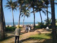 Пляж после обеда