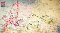 Румынская семья с ребенком 6 лет проехала 26000 км в Монголию на мотоцикле с коляской