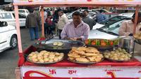 Еда на местном рынке