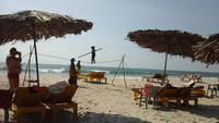 Представление на гоанском пляже