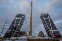Башни Кио в Мадриде
