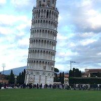 Знаменитая падающая башня