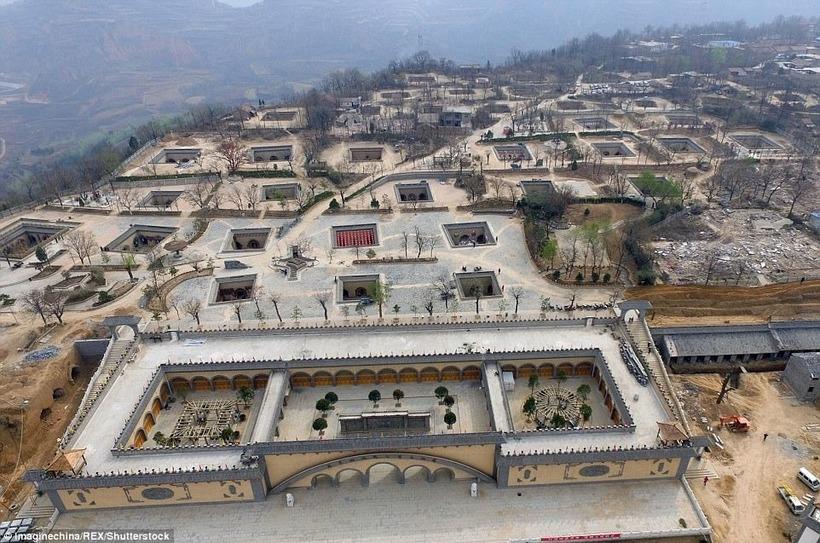 Дома-пещеры в Китае: сегодня в них живут около 40 миллионов китайцев
