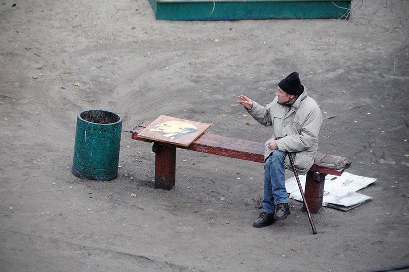 Фотограф провел 10 лет, снимая одну и ту же скамейку