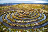 Загадочный остров: кто построил каменные лабиринты в Белом море