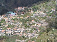 Curral das Freiras, Мадейра, вид со смотровой площадки