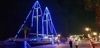 Новогодняя яхта