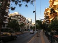 Улицы Афин в июне