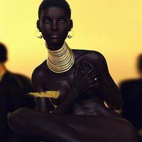 Фотографа обвинили в расизме из-за того, что его чернокожая модель слишком красива