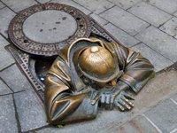 Крот в городе или искусство под ногами