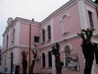 Скромная афиша археологического музея
