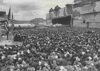 Военная тайна: поддельный город на крыше завода Boeing во время Второй мировой