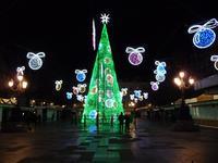 Новогодняя елка на Plaza Bib Rambla