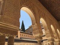 В крепости Альгамбра