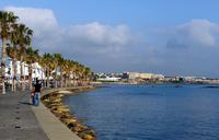 Кипр: прогулка по набережной в Пафосе