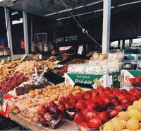 Carmel Market в мае