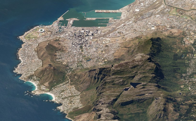Опубликованы спутниковые фотографии Земли, сделанные под углом, и они невероятны