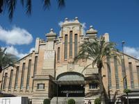 Продуктовый рынок в Аликанте напоминает дворец