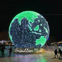 Новогодняя иллюминация в Бордо