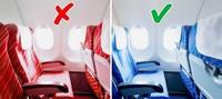 Почему кресла в самолете почти всегда синего цвета