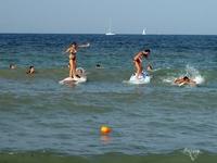 Серфинг на Солнечном Берегу