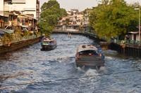 Бангкок: с ветерком по каналу