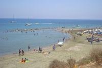 Ларнака, пляж Фарос
