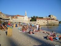 Черногория, пляжный отдых в Будве