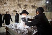 Январский Иерусалим