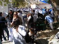Толпы людей, январь, Израиль