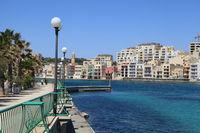Набережная на Мальте