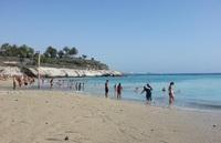 Пляж дель Дюке. Тенерифе в августе