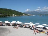 Черногория, пляжи в Тивате