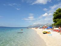 Хорватия, пляж в Башка-Воде