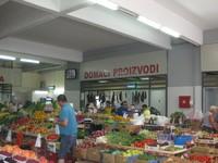 Будва, на рынке Зелена Пьяца