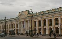 Главный фасад Гостиного дворца, выходящий на Невский проспект