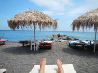 Лазурный берег Санторини
