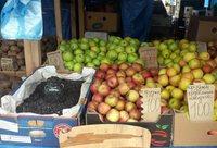 Самый большой выбор фруктов на рынках и базарах города