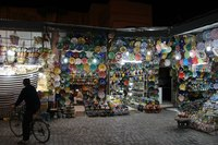 Сувенирная лавка в Марракеше