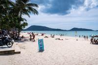 Патонг: правая сторона пляжа