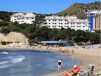 Испания, на пляже La Cala de Finestrat
