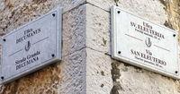 Улица сохранила римское название