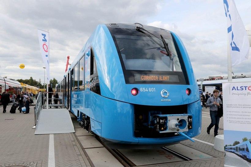 Поезда на водородном топливе в Германии: мечта стала явью