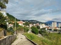 Вид с горы на Игало. Черногория в мае.