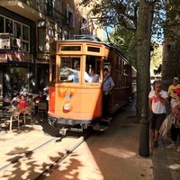 Трамвайчик на Майорке