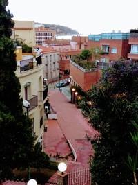 улицы Ллорет-де-Мар, Испания в марте