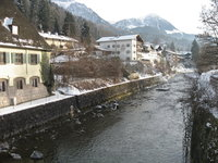 Зимние окрестности Баварии