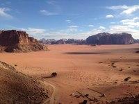 Скалы в Иордании.