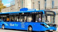 В Великобритании запущен автобус, который очищает воздух