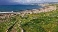 Побережье Кипра в марте